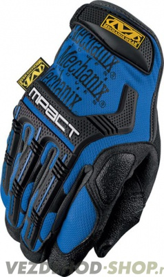 фото Перчатки Mechanix MW Mpact Glove Blue LG MPT-03-010