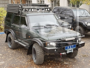 фото KDT Пороги Land Rover Discovery 2  0903