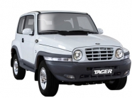 Защита картера SSANG YONG Tager из стали SY.760