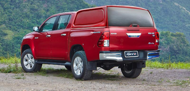 Кунг Toyota Hilux