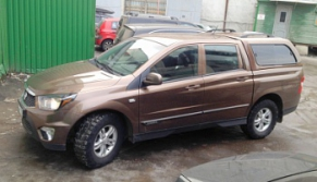 фото КУНГ CARRYBOY S560 SSANGYONG ACTYON SPORTS CSKD-S560N